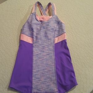 Ivivva Purple and Pink Tank Top